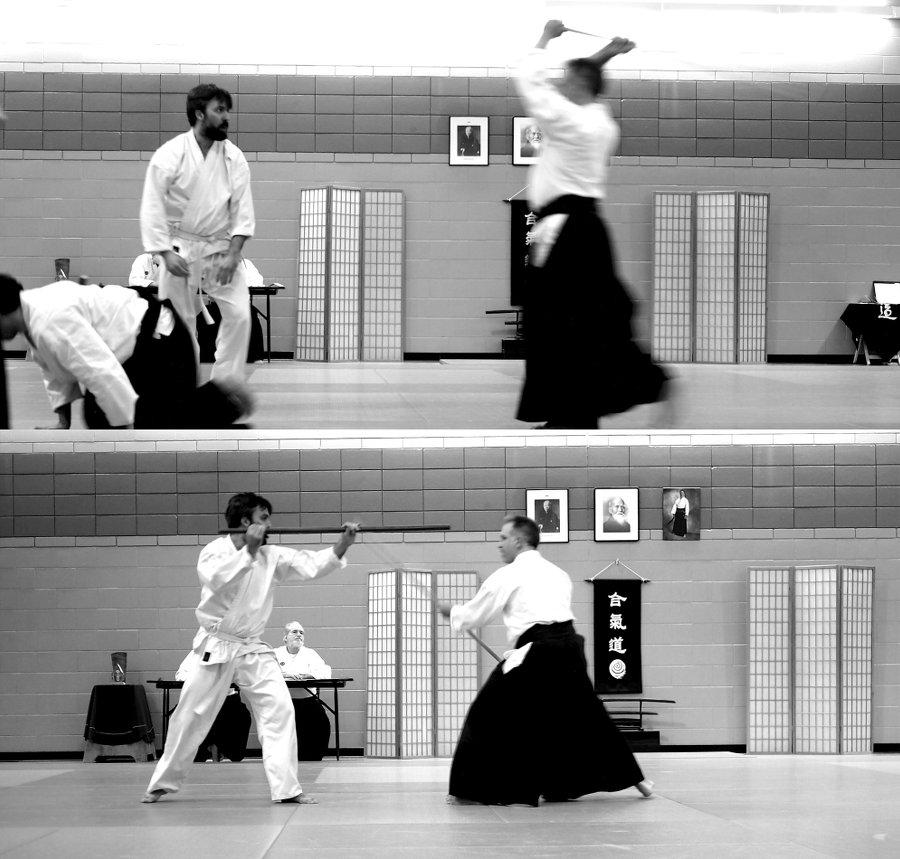 Examen d'aikido
