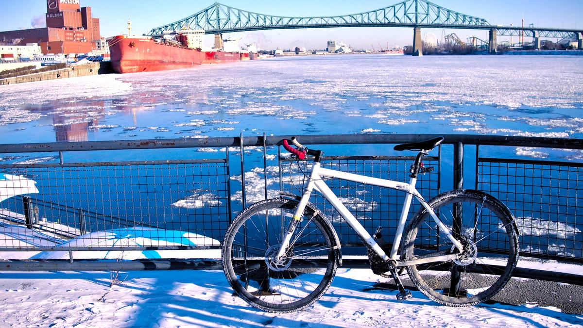 Dix ans de vélo d'hiver